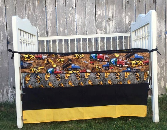 Construction Baby Bedding Truck Baby By Sewsweetbabydesigns