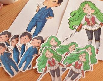 Custom Stickers - Commissions