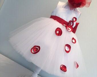 Poppy Flower Girl Dress