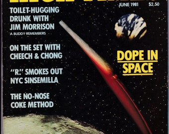 High Times Magazine June 1981 Trans-High Corporation See my store