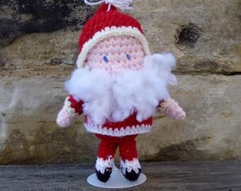 Santa Claus Doll - Crochet Amigurumi Stuffed Animal/Doll