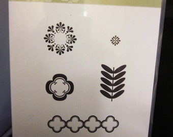 Stampin' Up! Madison Avenue Clear Mount Stamp Set
