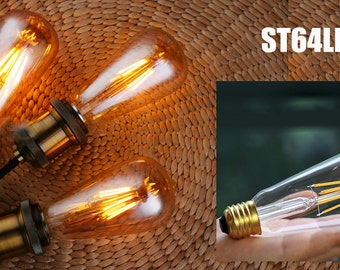 Vintage light bulb LED models Vintage Style Edison Squirrel Cage Light Bulb Edison Bulbs for Industrial Lighting