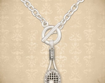 Tennis Toggle Necklace