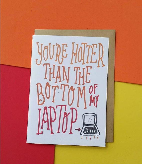 Funny Valentine's Day Greeting Card / Corny By
