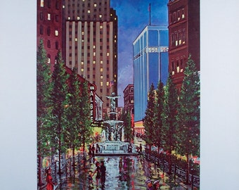 CINCINNATI PRINT, Cincinnati, Cincinnati Skyline, Cincinnati Poster, Wall  Art, Wall Decor