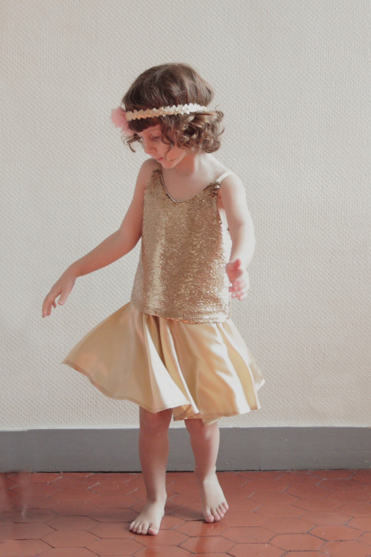 Silk Circle Skirt 88