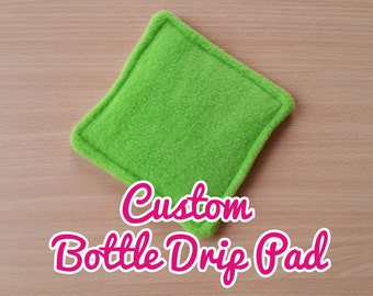 Custom Bottle Drip Pads - Ideal for Guinea Pigs