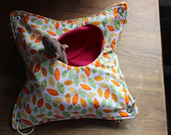 Peek-A-Boo Hammock For Rats, Ferrets, Chinchillas and Other Small Pets