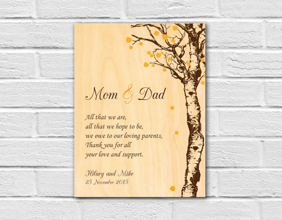 ... Unique Wedding Gifts for Parents, Thank You Gifts for Parents, Parent