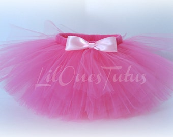 Hot Pink Tutu Skirt - Babies - Toddlers - Kids - Birthday