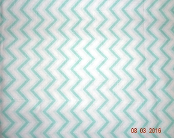 "1 1/4 Yards ""Anything Goes Basics"" Chevron Print Cotton Fabric - 44"" wide"