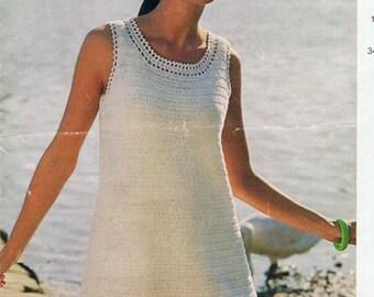 Womens crochet dress | Etsy