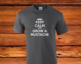 Keep Calm And Grow A Mustache // Facial Hair // Stache // Beard // Handle Bar // Hogan // Tom Selleck // Great Responsibility //