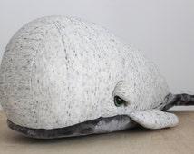 Big Spotted Bubble Whale  <O> Stuffed Animal <O> Plush Toy