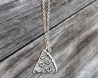 Pizza Necklace, Charm Necklace, TMNT Necklace