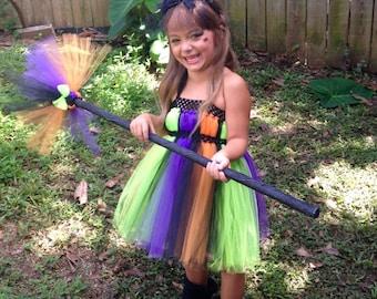 Pretty Little Witch tutu costume
