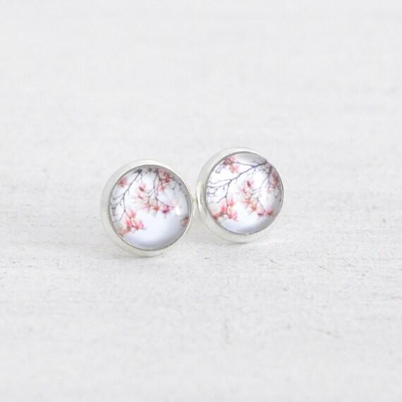 Magnolia Stud Earrings