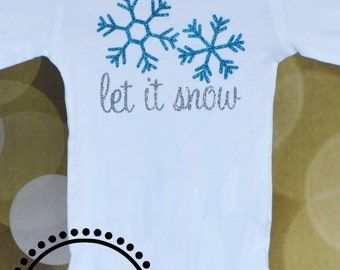 NEW! Let It Snow Onesie