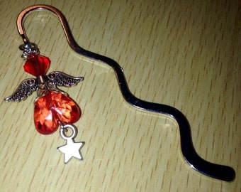 Beautiful Handmade Angel/Fairy silver tone bookmark