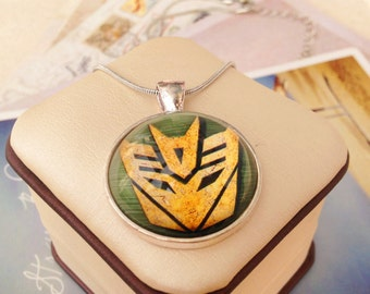 Transformers, Autobots, Decepticon, Necklaces , Charm Necklaces