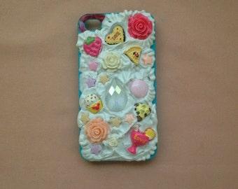 Sweet Lolita Decoden IPhone 4 - 4S Phone Case