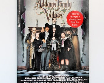 Addams Family Values Paperback 1993