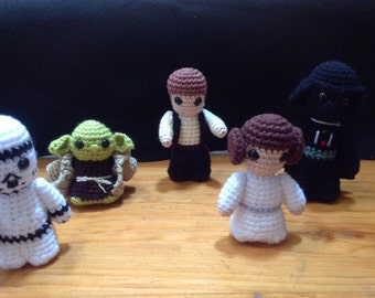 Star Wars amigurumi crochet