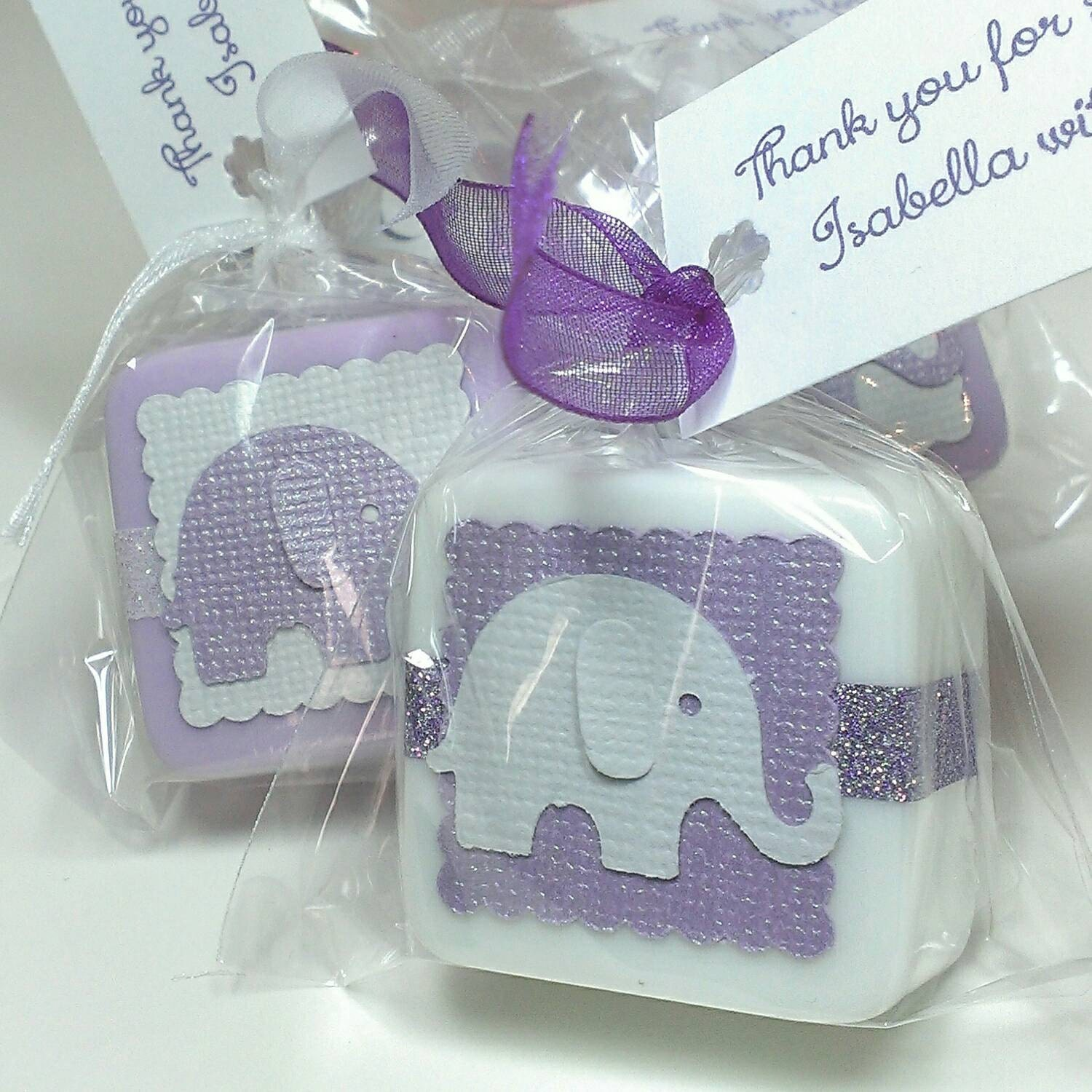 Baby Shower Favors Hand Soap ~ Shower favors baby girl favor soaps elephant