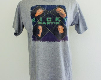 SALE- Vtg 90s Ricky Martin T