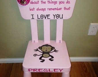 Time Out Chair With Timer personalized timeout chair custom kids time out chair boy