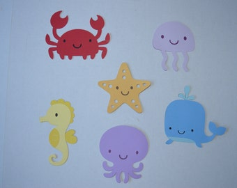 Under the Sea die cuts