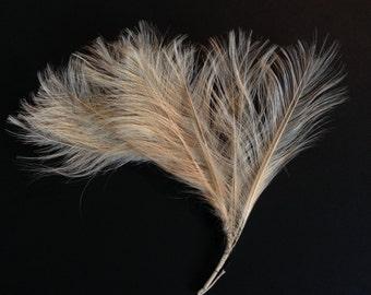 Vintage Millinery Feather Whisp - Plume de Neige