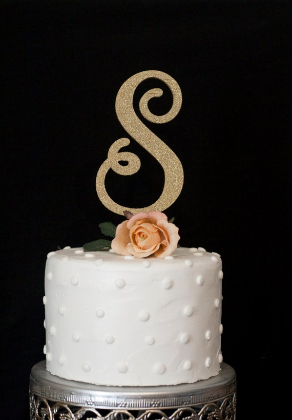 custom wedding cake toppers etsy custom monogram wedding cake topper 13253