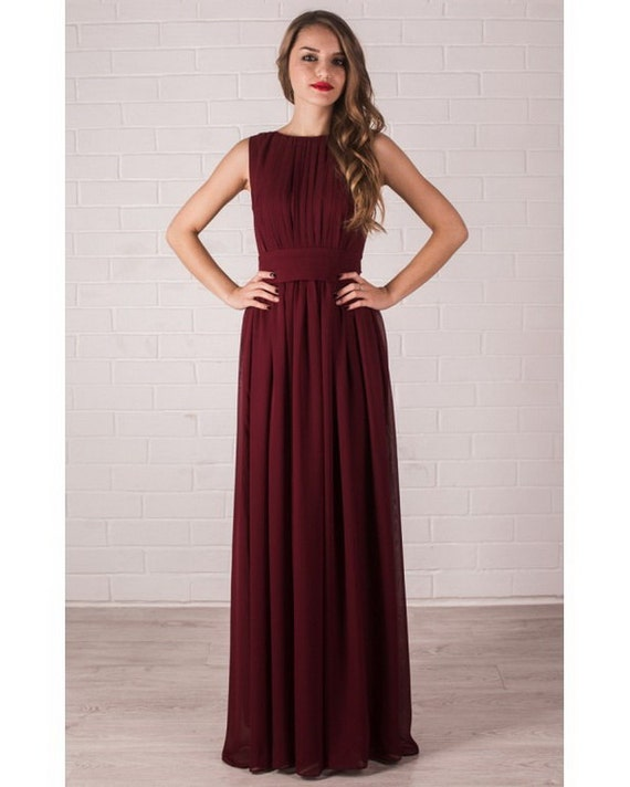 To acquire Chiffon cranberry bridesmaid dresses picture trends