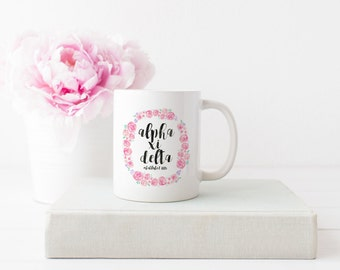 Alpha Xi Delta Sorority Mug | Great Big Little Sorority Gift!