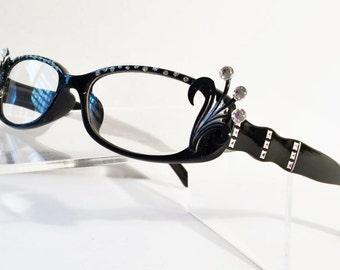 Reading Glasses with Bling, +2.00