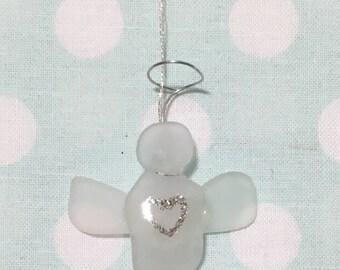 Sea Glass Angel
