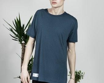 Plain Organic T-Shirt - Navy