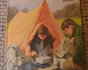 Scouts.  Vintage Ladybird Classic Children's Reading Book. Series 706