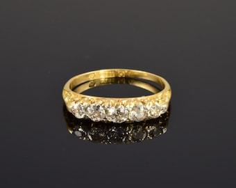 Antique diamond engagment ring, circa 1910.