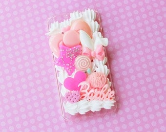 Sweet Lolita Fairy Kei Decoden iPhone 6 4.7'' case