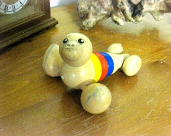 Antique toy FOCA old game wood toy 60 years toys for kids toys Germany Bavaria vintage old