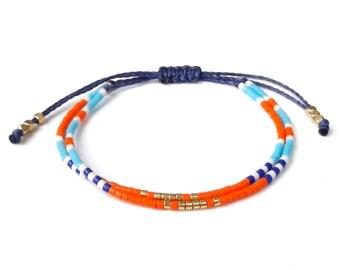 anklet bracelet, adjustable thread anklet bracelet , anklets , summer jewelry, beaded anklet