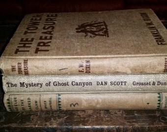 Vintage BRET KING Dan Scott #7 MYSTERY OF COMANCHE CAVES 1962 HC/DJ COWBOYS