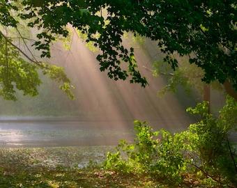 Sunrays from Heaven, Spring Glory, Beach Geometry,Iguazu Falls, Spring Glory2