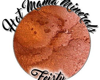 Feisty Eye Candy Mineral Eyeshadow Copper Vegan