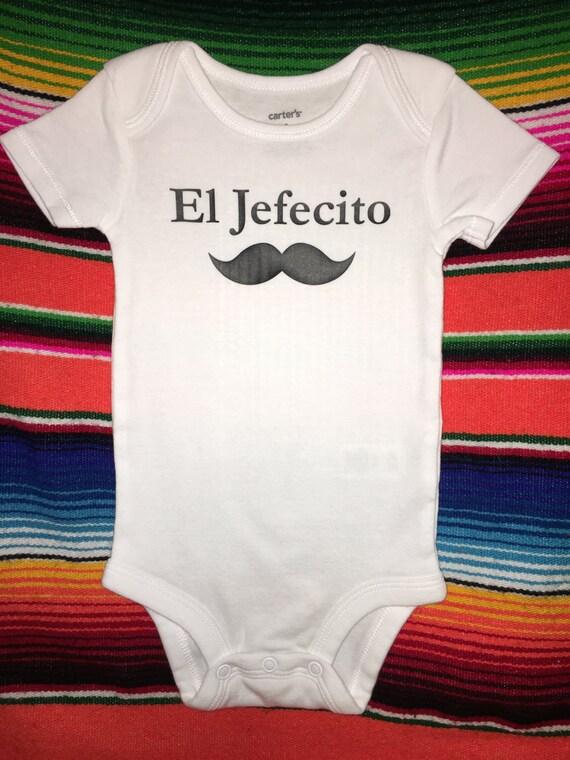 El Jefecito / baby clothes / onesie / bilingual / Spanish