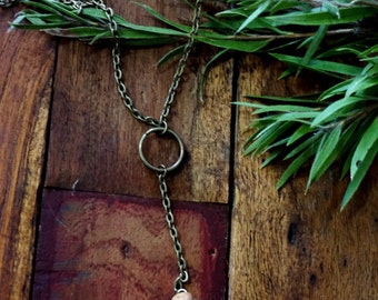 Moss Pendant, Boho Necklace, Mini Glass Terrarium, Moss Jewellery, Bronze Circle Globe