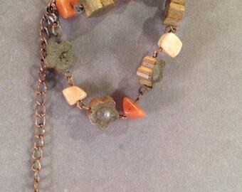 Handmade Adjustable Beaded Bracelet